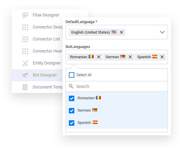 chatbot platform multilanguage
