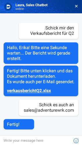 chatbots deutsch druid website