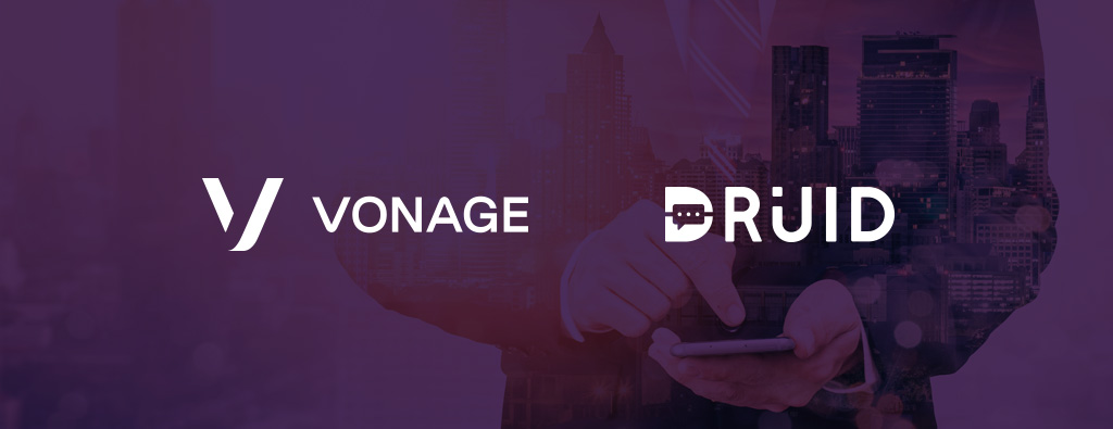 DRUID teams up with Vonage to enable AI powered chatbots on WhatsApp